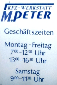 Marcus Peter kfz Meisterwerkstatt Brotterode